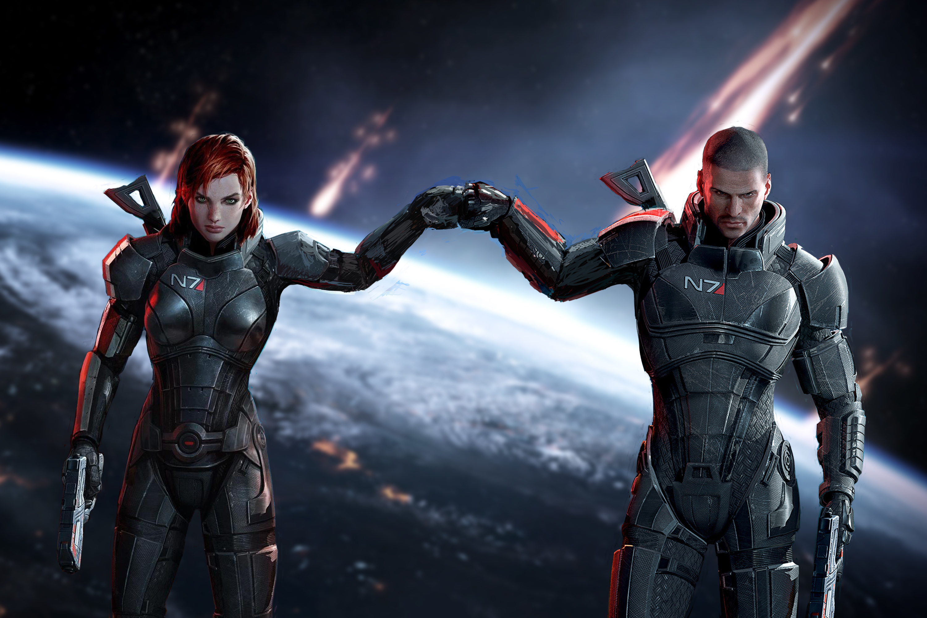 Graphic Reviews: Mass Effect | Aeither.net